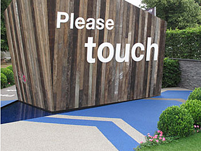 A garden designed for breast cancer awareness won gold at the RHS Hampton Court Flower Show